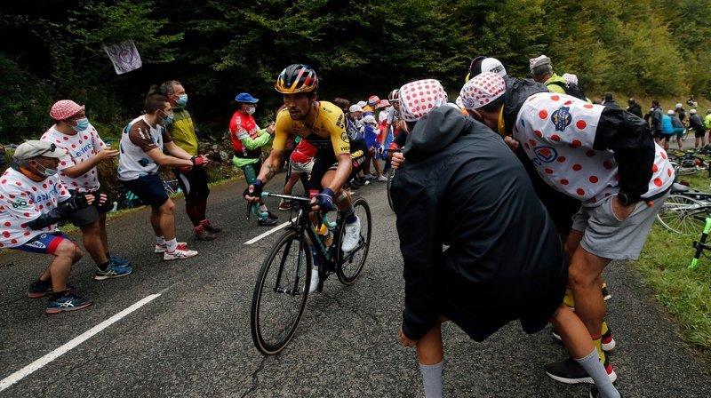 Tour de France: Primoz Roglic prend le pouvoir presque contre son gré