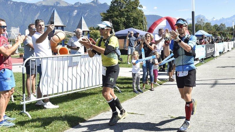 Historique: ils terminent ex æquo la traversée du Valais sur le Swiss Peaks Trail