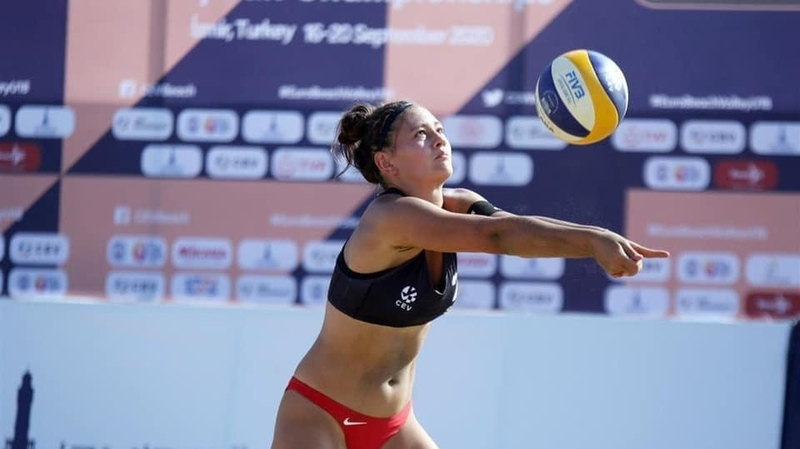 Beachvolley: Lea Toschini enlève une médaille de bronze aux Européens U18