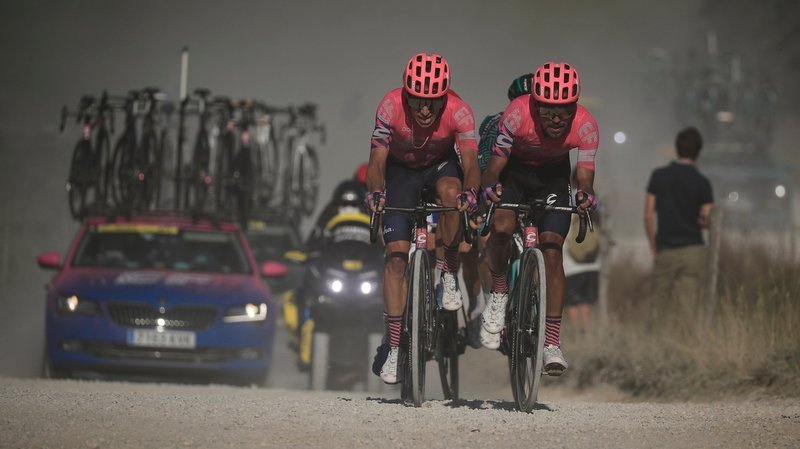 Cyclisme: la sélection sur le Tour de France se fait, chaque jour, par l'arrière