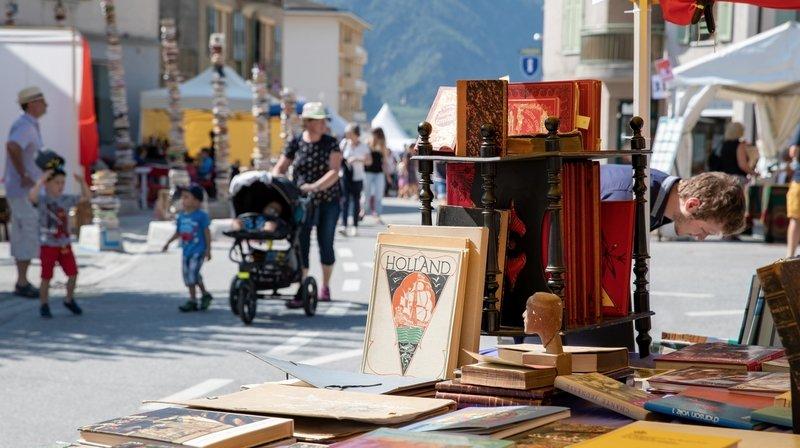 Saint-Pierre-de-Clages: 20 bouquinistes proposeront des milliers d'ouvrages