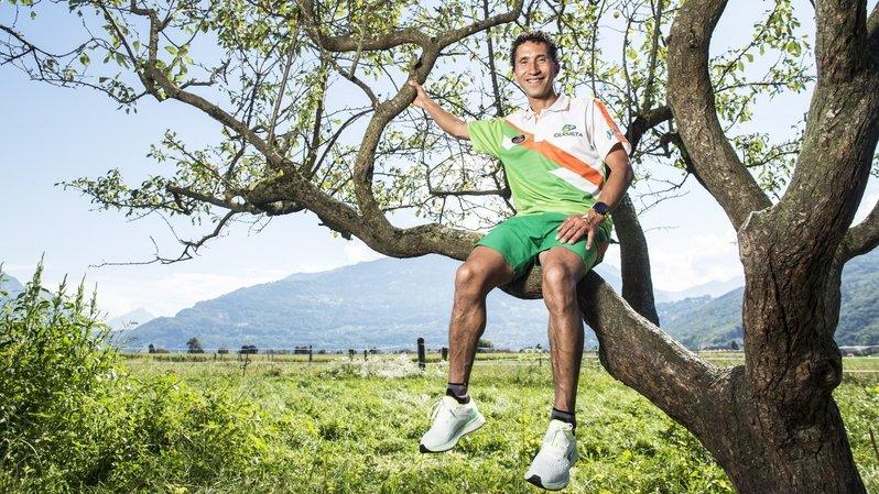 William Rodriguez, le plus valaisan des coureurs à pied colombiens