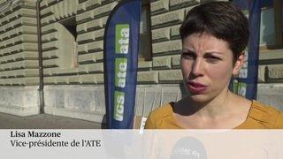 """L'ATE a déposé la pétition """"1 voyage - 1 billet pour toute l'Europe"""""""