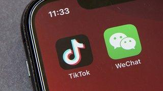 Les applications TikTok et WeChat interdites aux USA dès dimanche