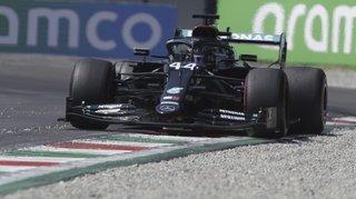 Formule 1 – Grand Prix d'Italie:Hamilton encore en pole position à Monza