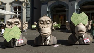 Greenpeace: 23'000 signatures pour une place financière plus respectueuse du climat