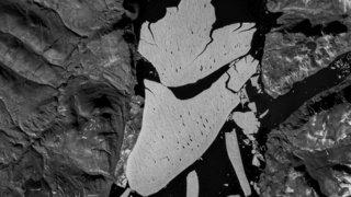 Environnement: au Groenland, le principal glacier de l'Arctique se fracture