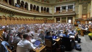 Climat: le Parlement ne veut pas être perturbé par les activistes