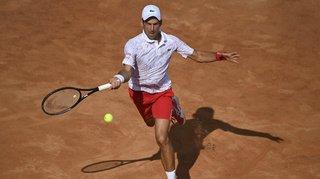 Tennis – Masters 1000 de Rome: Djokovic passe en quarts de finale