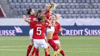 Football – Euro 2022: les Suissesses battent la Belgique en match de qualification