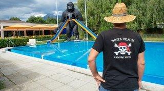 Camping du Botza à Vétroz: «Nous voulons garder la piscine et le restaurant»