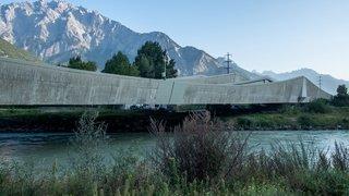 Pont sur le Rhône à Riddes: une remise aux normes spectaculaire