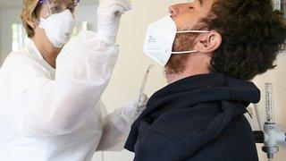 Coronavirus: 286 cas pour 7'949 tests en Suisse, taux de positivité de 3,6%