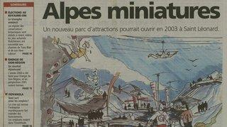 Quand Saint-Léonard rêvait d'accueillir un parc d'attractions à 28 millions