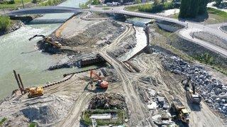 Rhône 3: le début des grands travaux