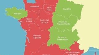 Coronavirus: la Suisse place 9 régions de France en zone rouge, pas de quarantaine pour les frontaliers