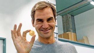 Pièces commémoratives: après l'argent, l'or pour Federer