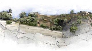 D'un village néolithique à une place pour flâner: Sous-le-Scex, c'est toute une histoire