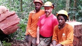 Un bûcheron de Martigny gère une forêt grande comme le Valais au Gabon: rencontre