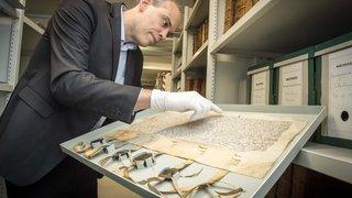 Histoire: les archives de l'Etat du Valais, un nouveau produit touristique en ville de Sion