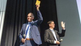 Le PDCVr lance officiellement Christophe Darbellay et Serge Gaudin